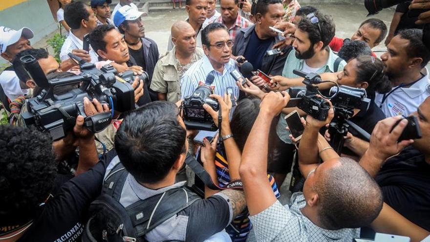 Un exlíder guerrillero será presidente de Timor, según el recuento provisional de las elecciones