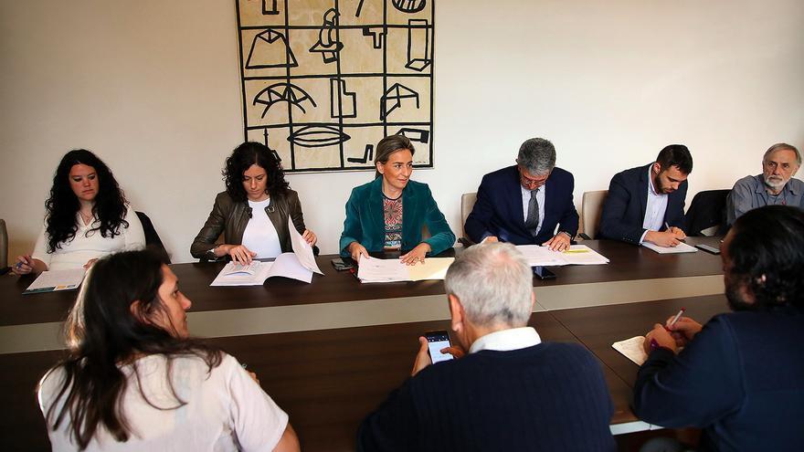 Reunión del Consejo del Pacto de Toledo por el río Tajo