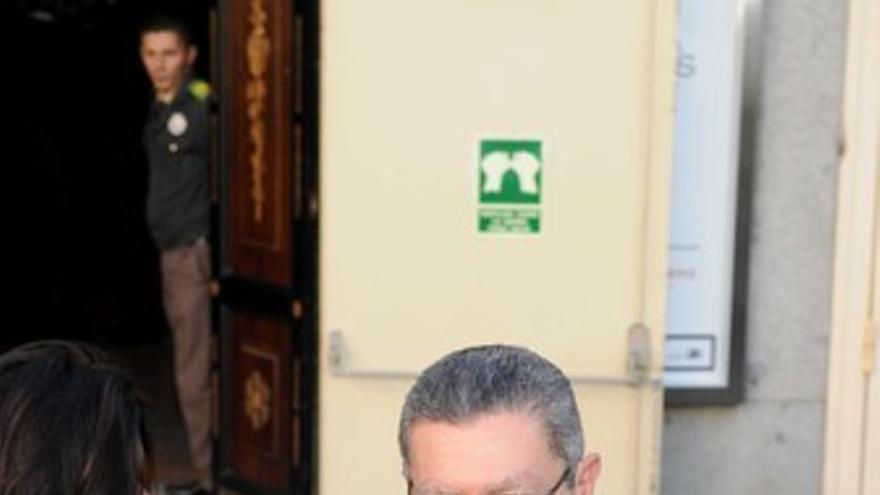 El alcalde de Madrid, Alberto Ruiz-Gallardón