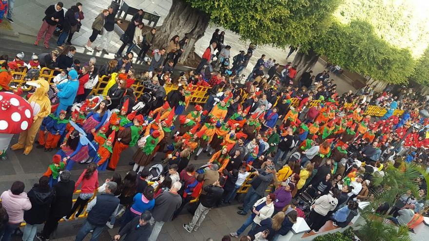Coso Escolar del carnaval de Los Llanos de Aridane