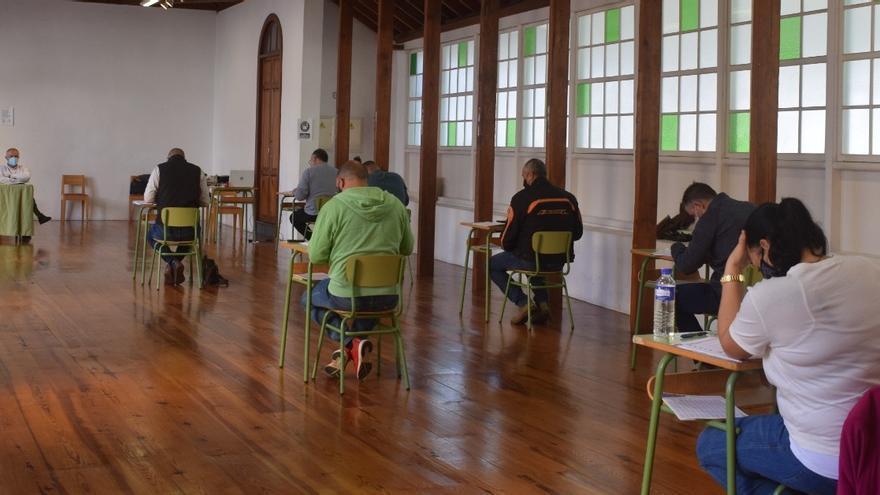 Diez aspirantes optan a una plaza de policía local en Santa Cruz de La Palma