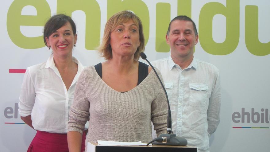 """EH Bildu insiste al PNV que """"confluya"""" con EH Bildu y Elkarrekin Podemos para avanzar en el derecho a decidir"""