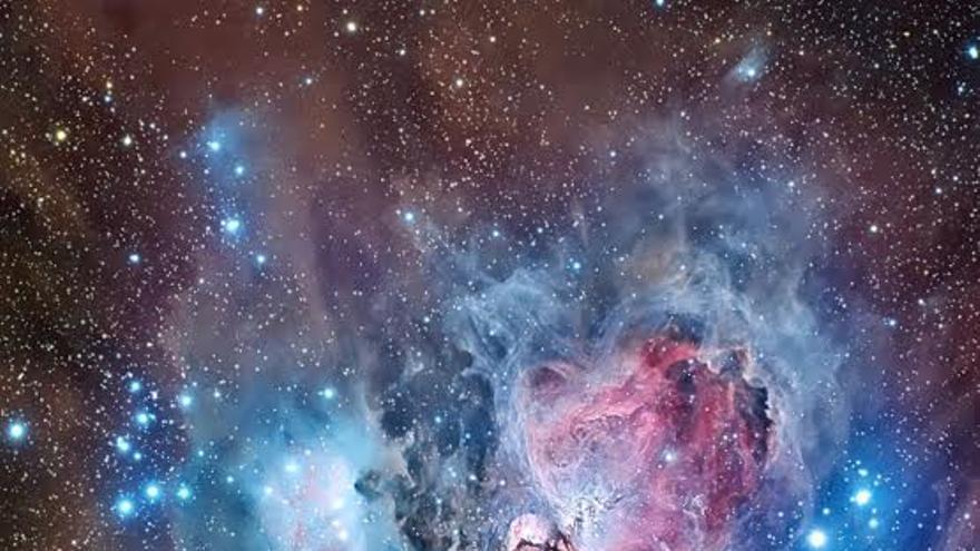Tercer premio en la modalidad de 'Cielo Profundo'. Título: Una flor en la constelación de Orión. Autor: Raúl Villaverde.