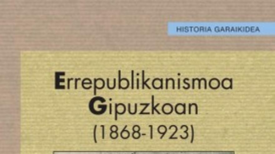 Errepublikanismoa Gipuzkoan libruraren azala