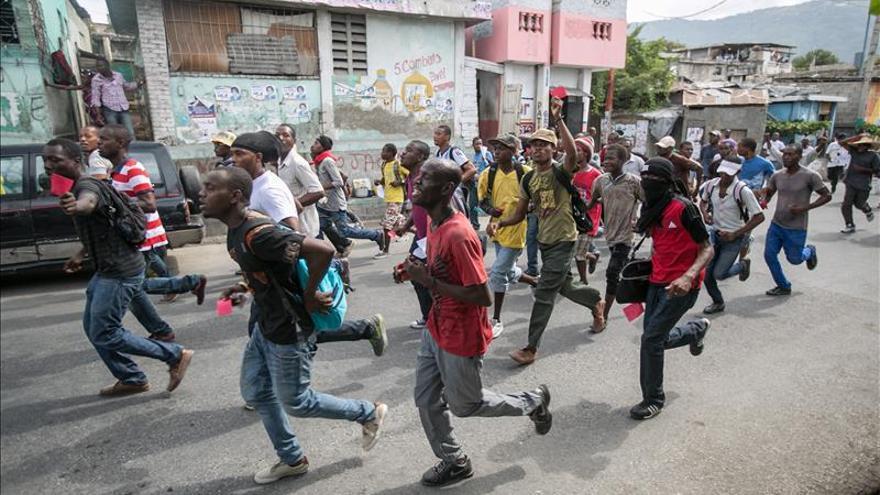 El Gobierno haitiano pide calma ante la escalada de violencia en las manifestaciones