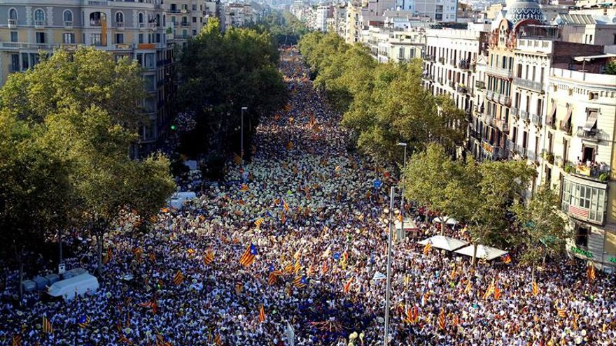 SCC: Cifra oficial de manifestantes en Diada habría causado catástrofe humana