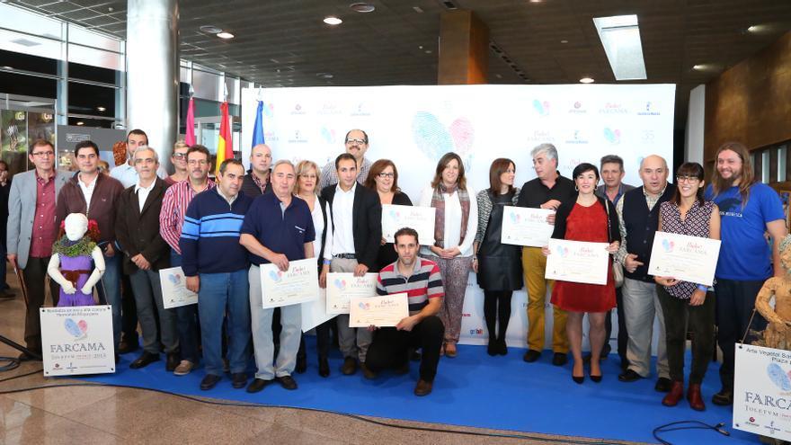 Entrega de premios de FARCAMA 2015 / JCCM
