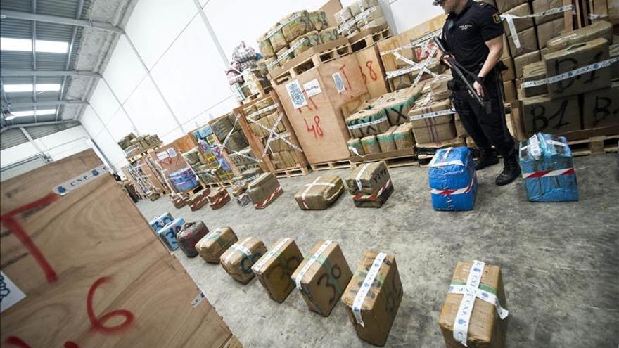 Localizan en Sevilla 3 toneladas de hachís relacionadas con las 63 de Córdoba