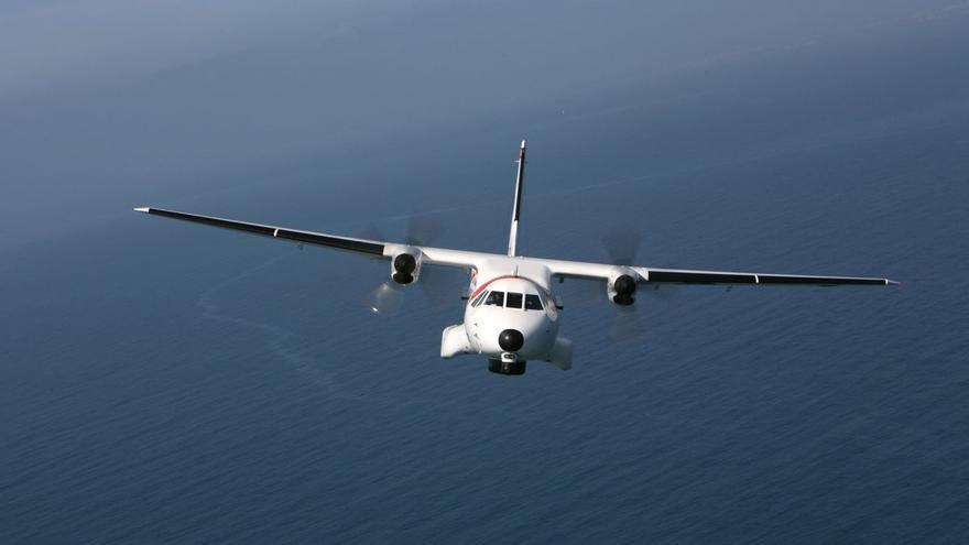 Avión de Salvamento Marítimo