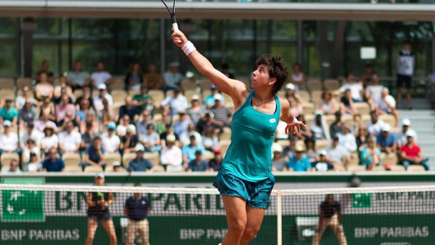 Carla Suárez afronta su último año en el circuito profesional.