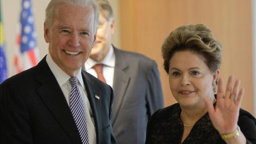 Biden se reúne con Rousseff en la última escala de su gira por América Latina
