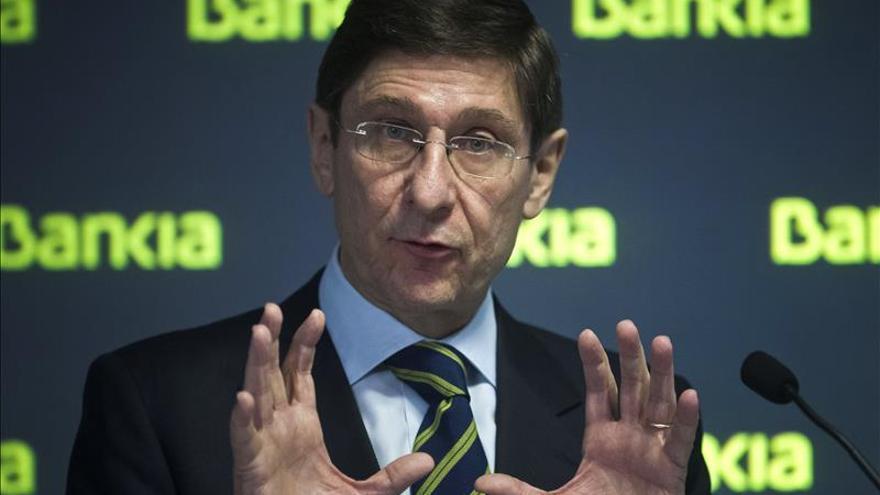 Bankia gana 747 millones en 2014, un 83 % más, a pesar de las dotaciones