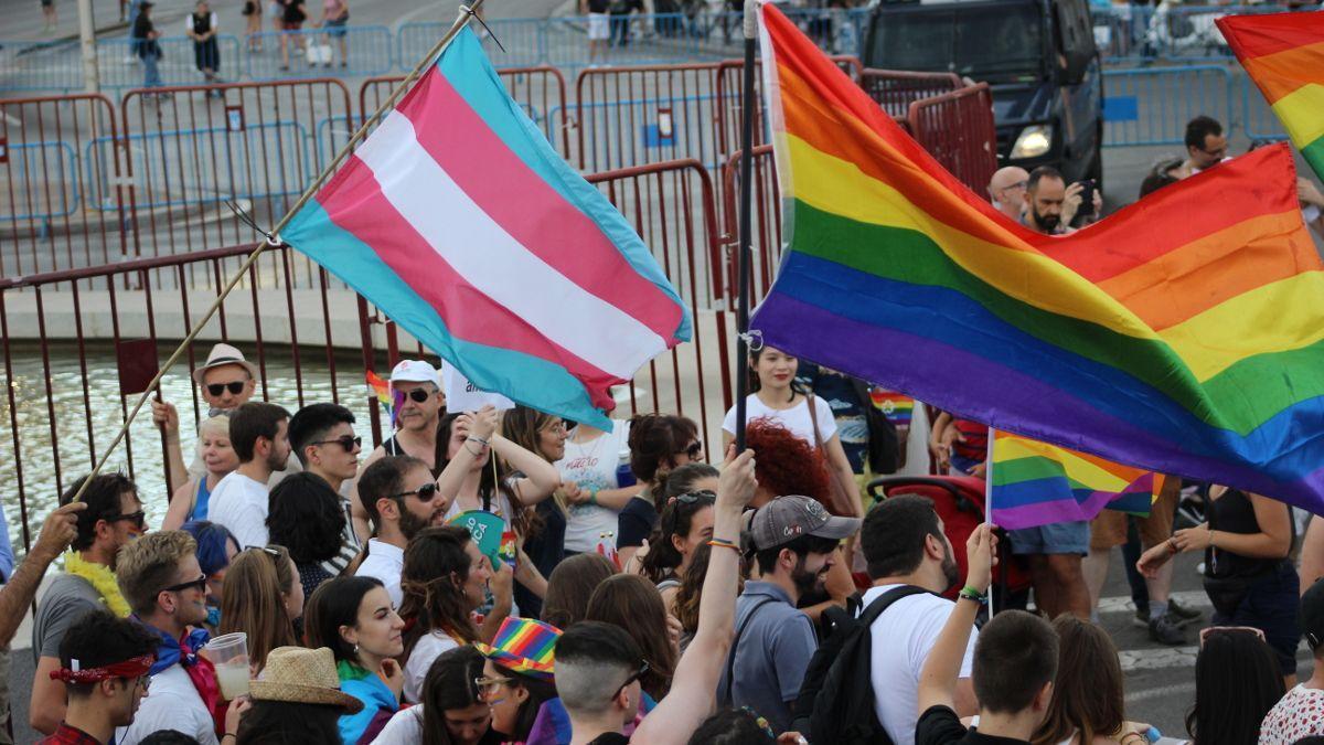 Manifestación del Orgullo 2019 en Madrid.