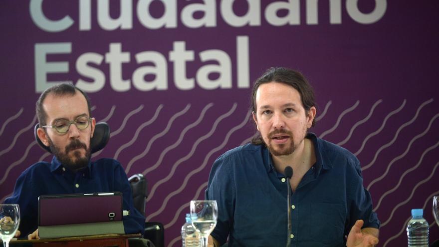 """Iglesias señala Ahora Madrid, Barcelona en Comú, Marea Atlántica y """"algunas más"""" como excepciones a la marca 'Podemos'"""