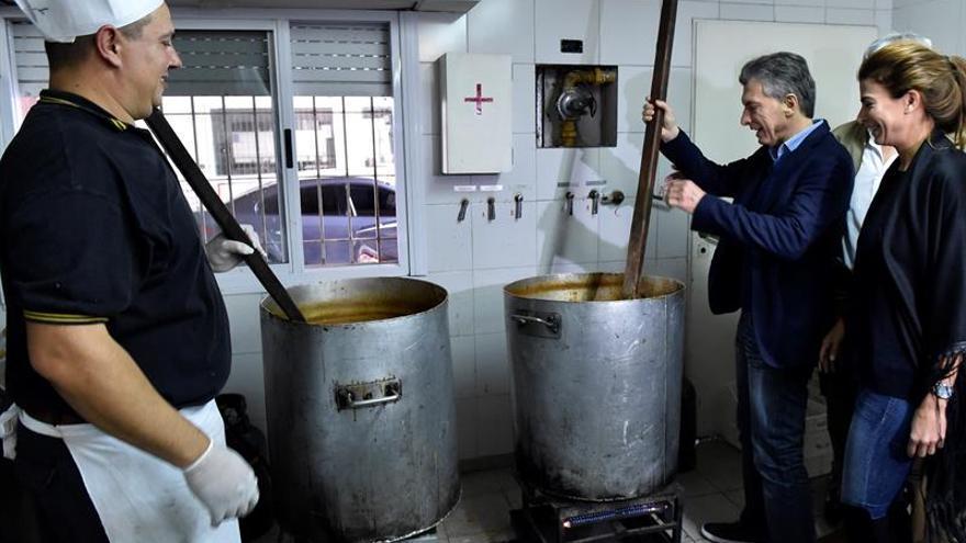 """Macri denuncia la creación de trabajo público """"inútil"""" durante el Gobierno anterior"""