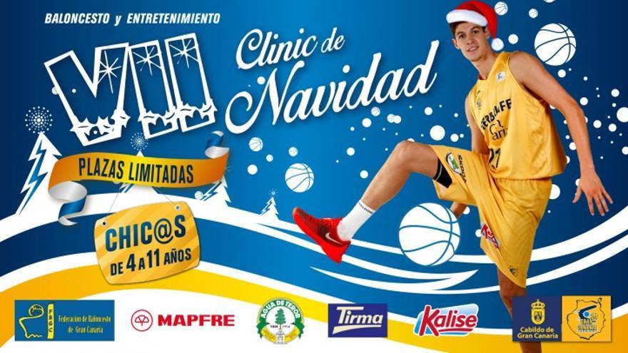 Cartel del VIIº Clinic de Navidad. (Página Oficial Herbalife Gran Canaria).