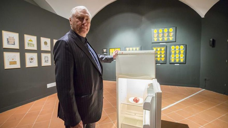 Peter Greenaway reflexiona sobre el cuerpo humano en una muestra en Murcia