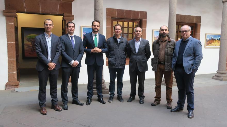 La reunión de lanzamiento del proyecto FI-MAC se ha celebrado este jueves en la Casa Salazar  de Santa Cruz de La Palma.