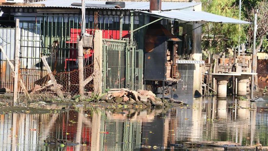 Unos 65.500 paraguayos están desplazados de sus casas de Asunción por El Niño