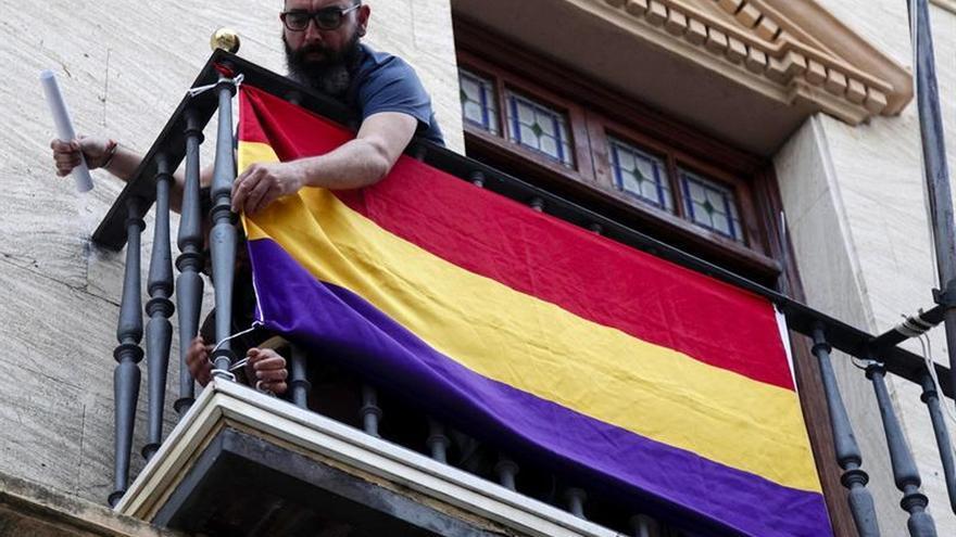 La juez ordena la retirada de la bandera republicana de Ayuntamiento de Ayamonte