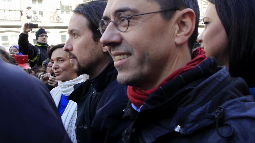 """Pablo Iglesias, sobre la sanción de la Complutense a Monedero: """"No me cabe duda de que cumplirá con sus obligaciones"""""""
