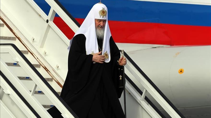 El patriarca Kiril llega a Cuba para la histórica reunión con el papa Francisco