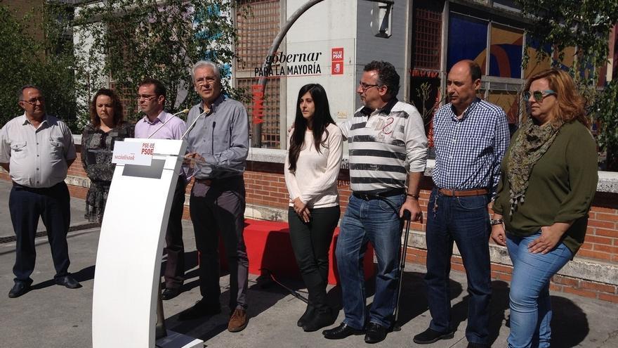 Totorika (PSE) propone convertir la plaza del mercado de Ermua en un espacio multiusos