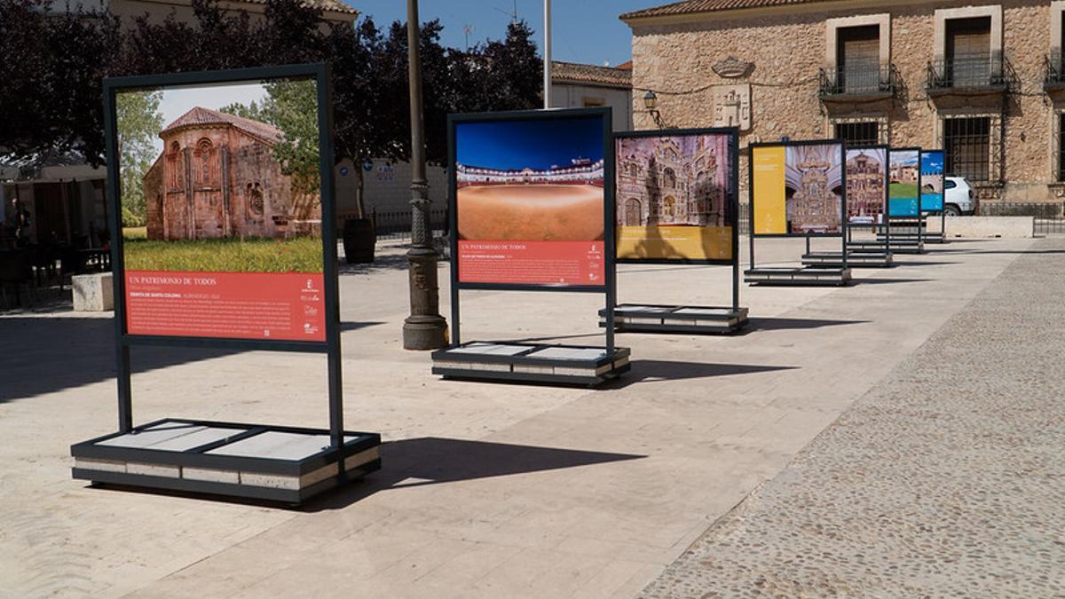 Exposición 'Un patrimonio para todos' que ha llegado a San Clemente (Cuenca)