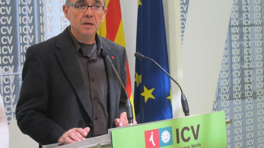 """Coscubiela (ICV) afirma que la nueva reforma financiera muestra el """"fracaso"""" del Gobierno"""