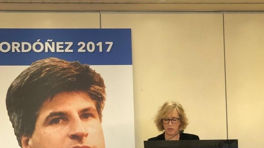 """Ana Iribar: """"Algunos no estamos por la reconciliación inmoral que promocionan instituciones vascas ni por el perdón"""""""