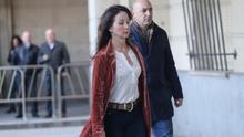 La jueza Mercedes Alaya llega a los juzgados.