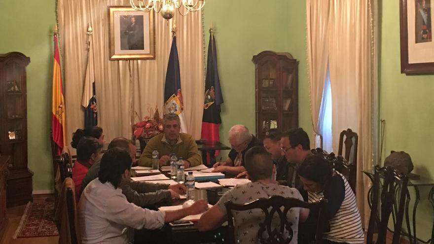 Pleno del Ayuntamiento de Fuencaliente.
