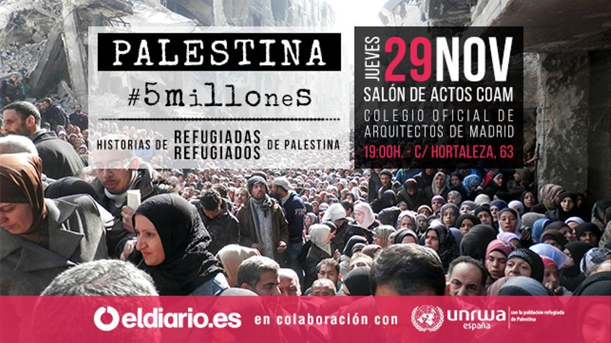 Palestina. 5 millones