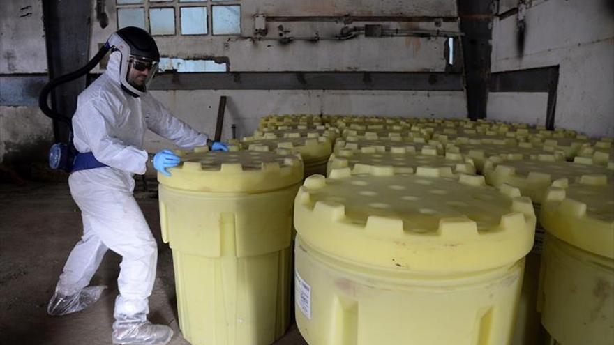 La limpieza de lindano costará más de 500 millones de euros.
