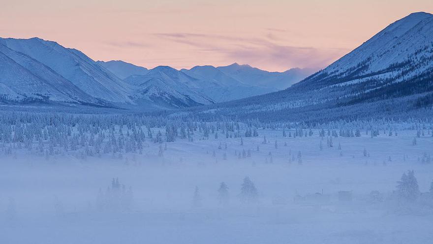 Oymyakon, Siberia.