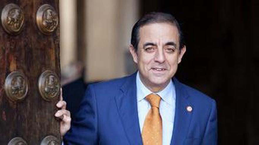 Miguel Ángel Castro, rector de la Universidad de Sevilla /Foto: US