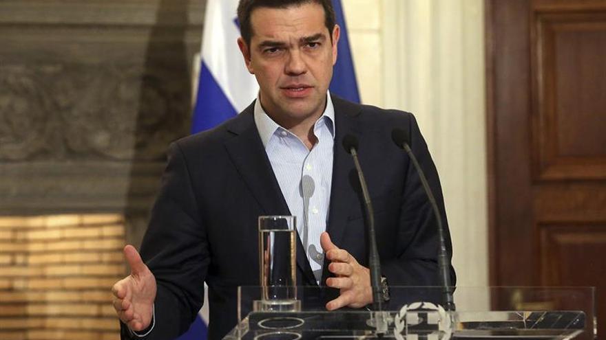 Tsipras presenta la estrategia para el crecimiento de Grecia hasta el 2021