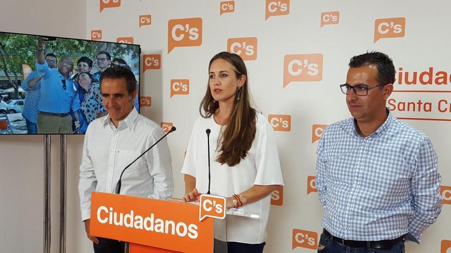 La diputada electa de Ciudadanos por la provincia de Santa Cruz de Tenerife, Melisa Rodríguez.