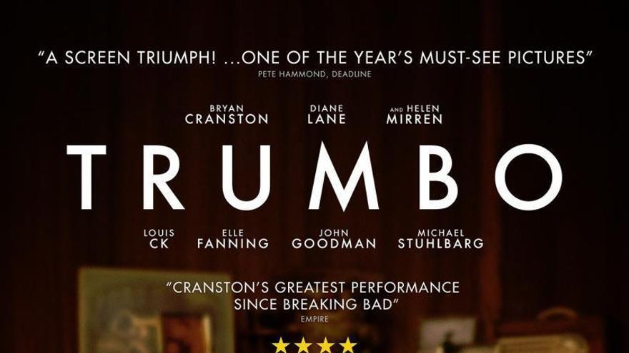 Resultado de imagen de Trumbo de Jay Roach