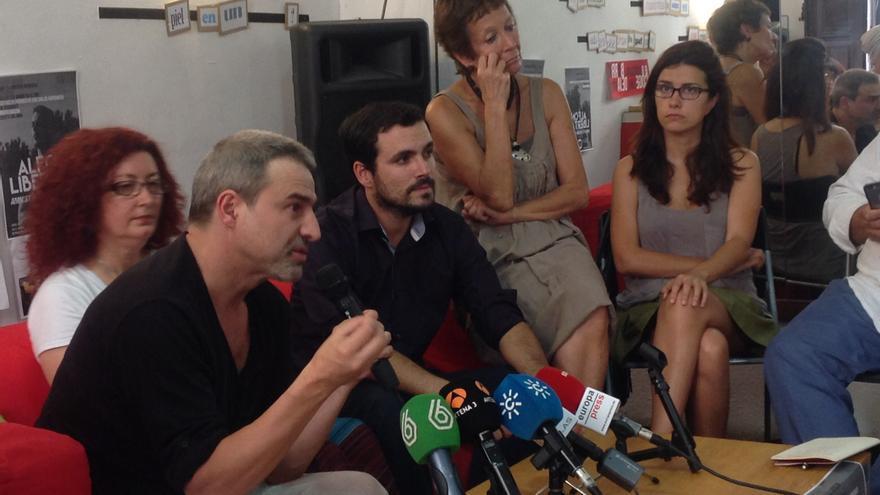 Alberto San Juan, Elena Ortega, Alberto Garzón y Olga Rodríguez, entre otros, muestran su apoyo a Alfon