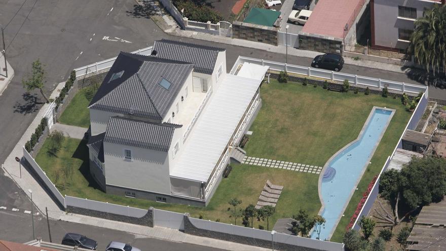 Casa de José Manuel Soria en Las Palmas de Gran Canaria.