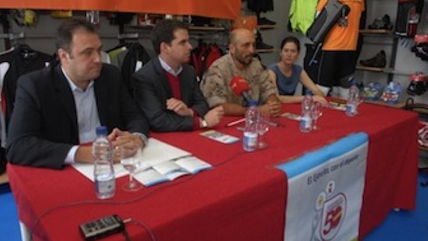 De izquierda a derecha, Carlos Ester, Lucas Bravo de Laguna, Óscar Sánchez y Laura Caro. (Acfi Press)