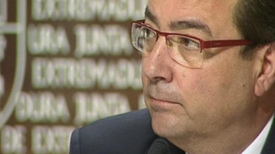 Declaraciones de Fernandez Vara sobre las reducción de consejerias