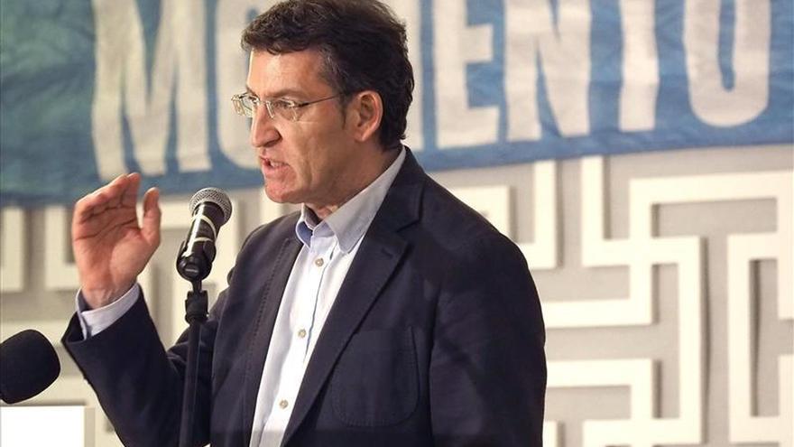 """Feijóo dice que muchos votantes del PSdeG no aceptan pactos con los """"antisistema"""""""