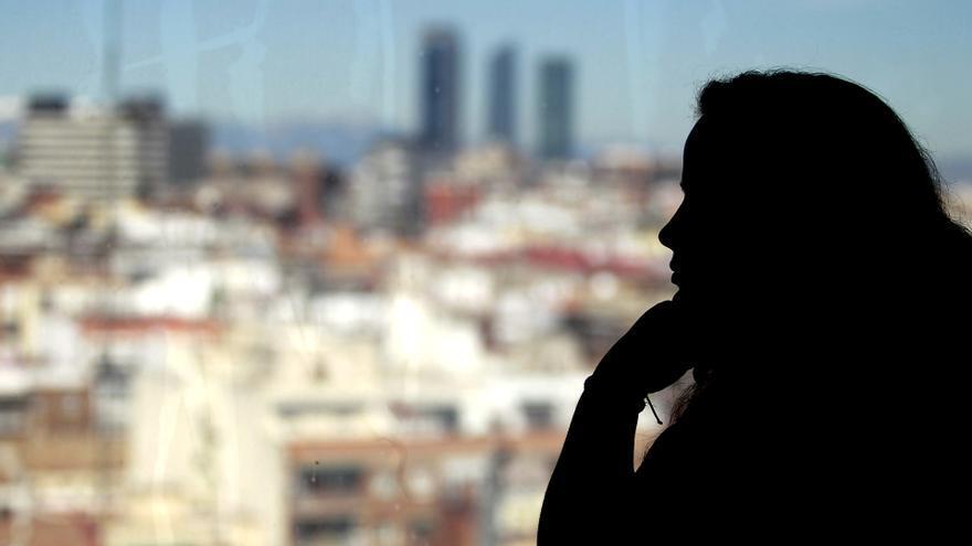 María Camino tuvo que dejar el piso de protección tras ser vendido a FIdere / Marta Jara.