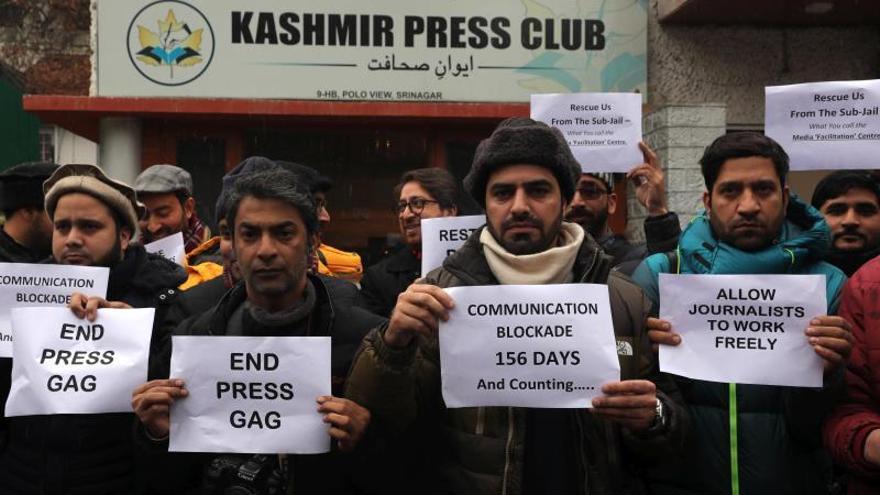 India restaura parcialmente internet en Cachemira tras seis meses de bloqueo
