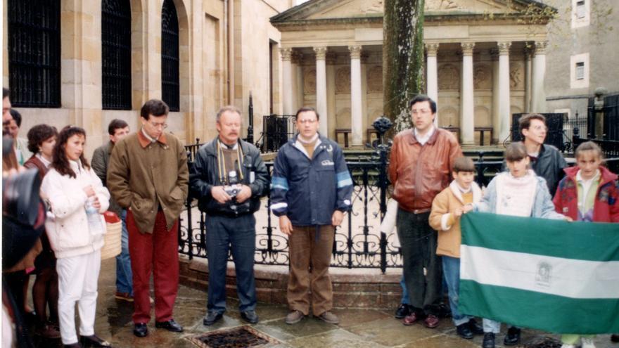 Participantes en el ayuno contra ETA.
