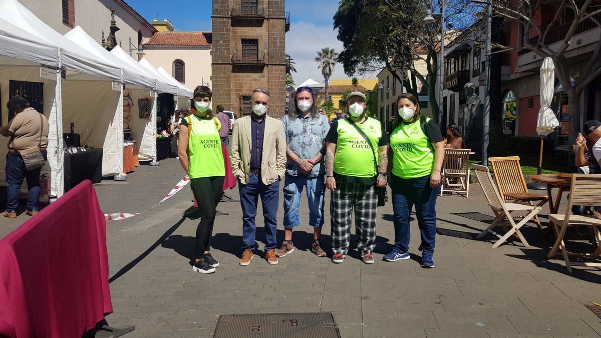 Agentes COVID de La Laguna