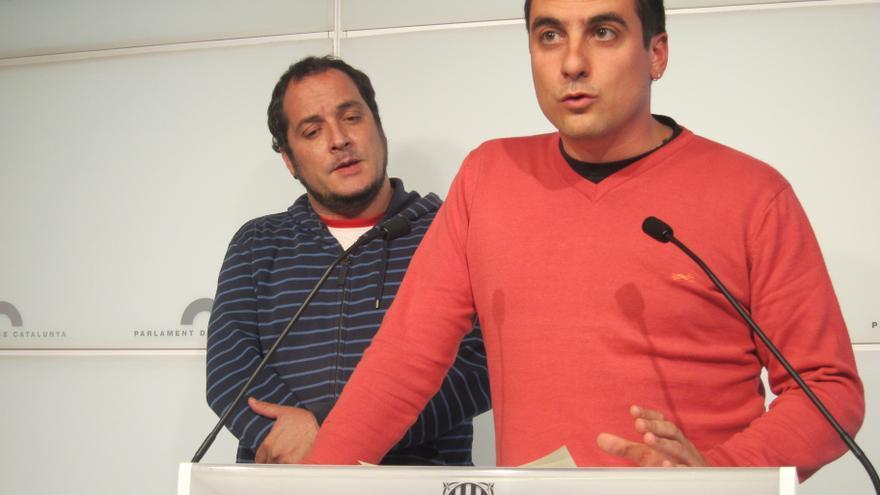 """La CUP acusa a Homs de """"mentir"""" porque avanzó hace meses a CiU y ERC su abstención"""