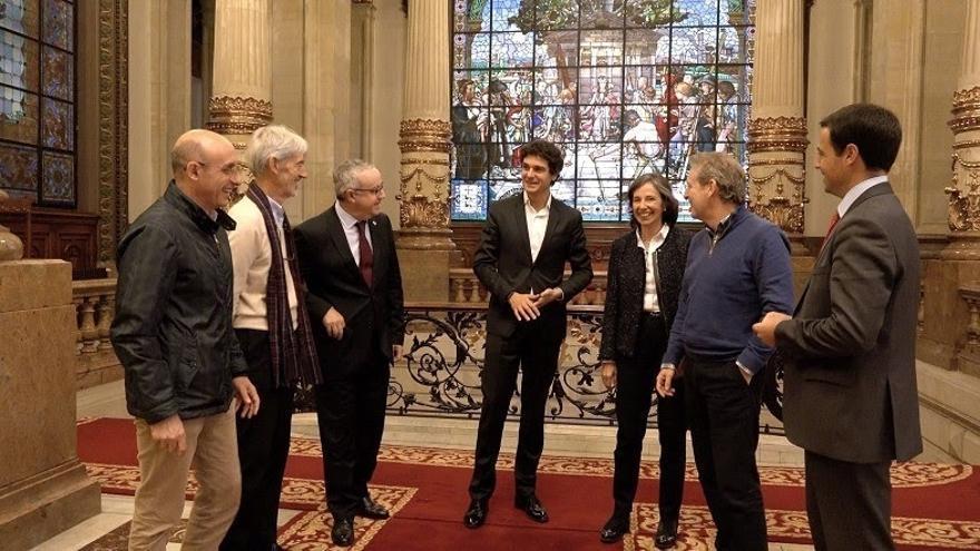 Rementeria se reúne con los expertos que colaboran en la elaboración de un plan de estímulo para Enkarterri